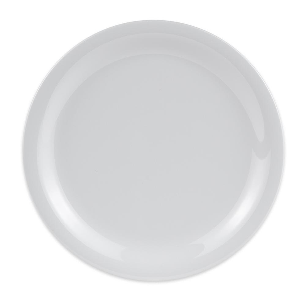 """GET NP-7-DW 7.25"""" Round Salad Plate, Melamine, White"""