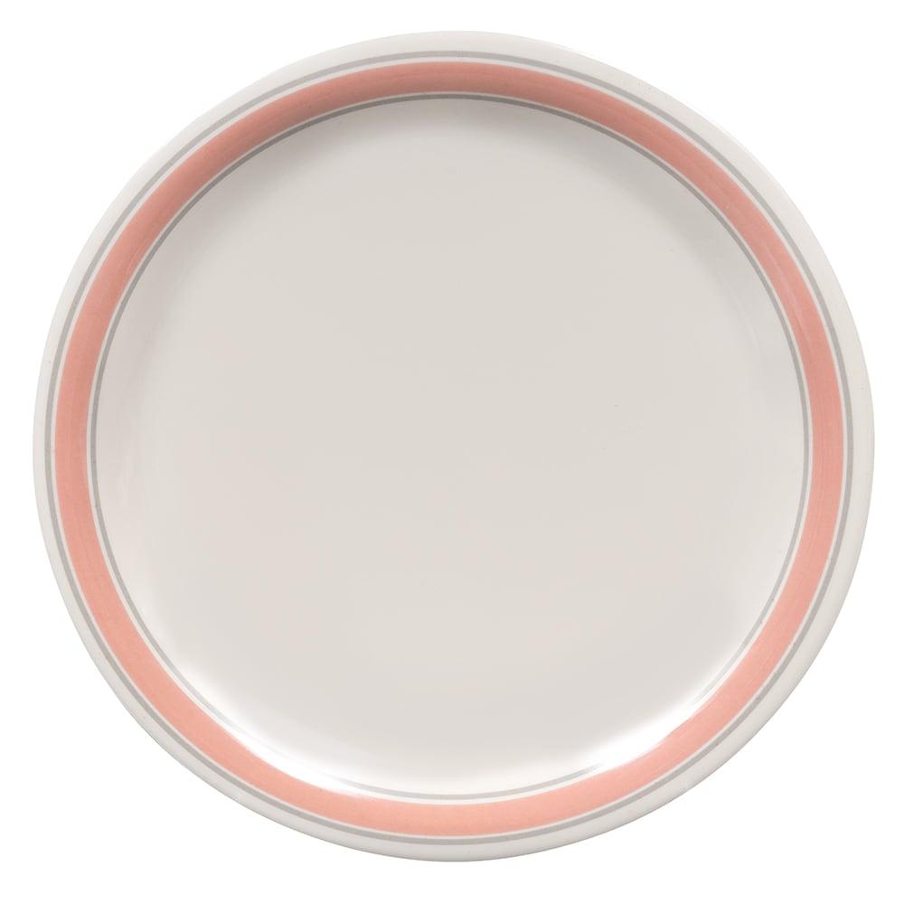 """GET NP-7-OX 7.25"""" Round Salad Plate, Melamine, White"""