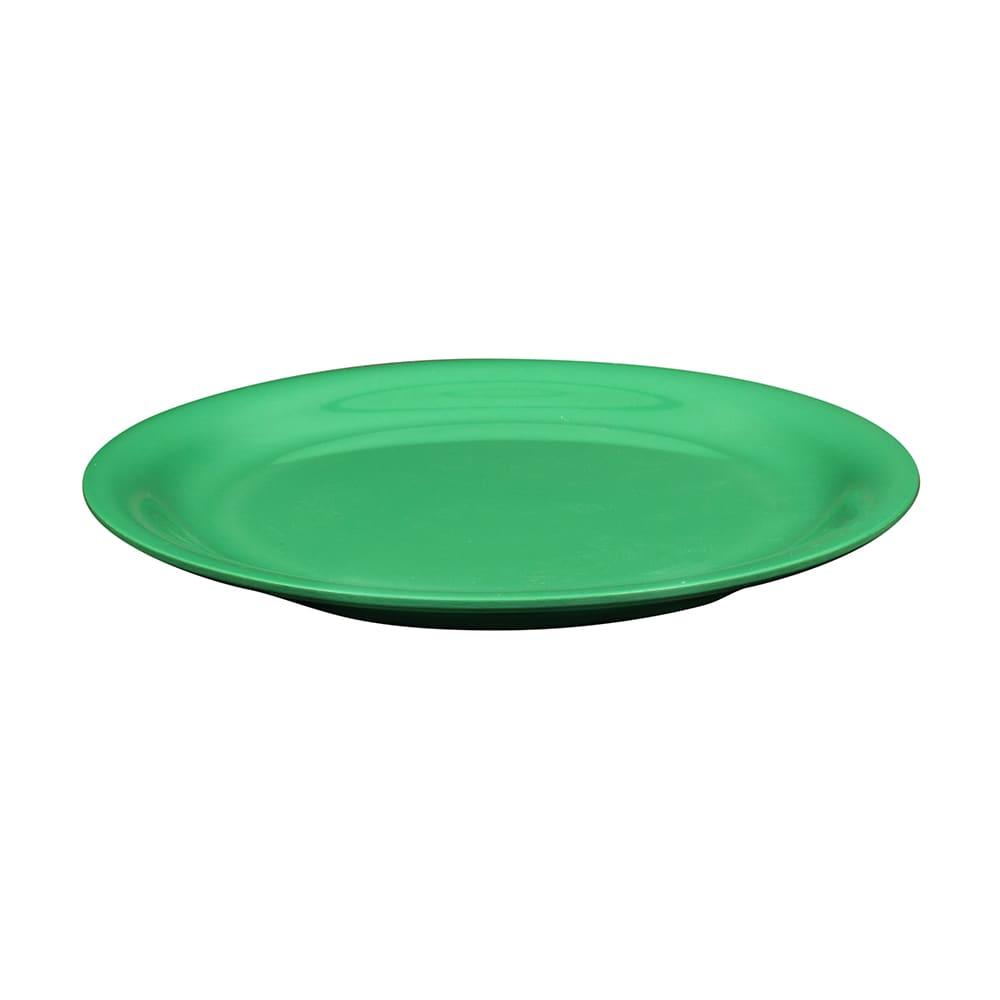 "GET NP-9-FG 9"" Round Dinner Plate, Melamine, Green"