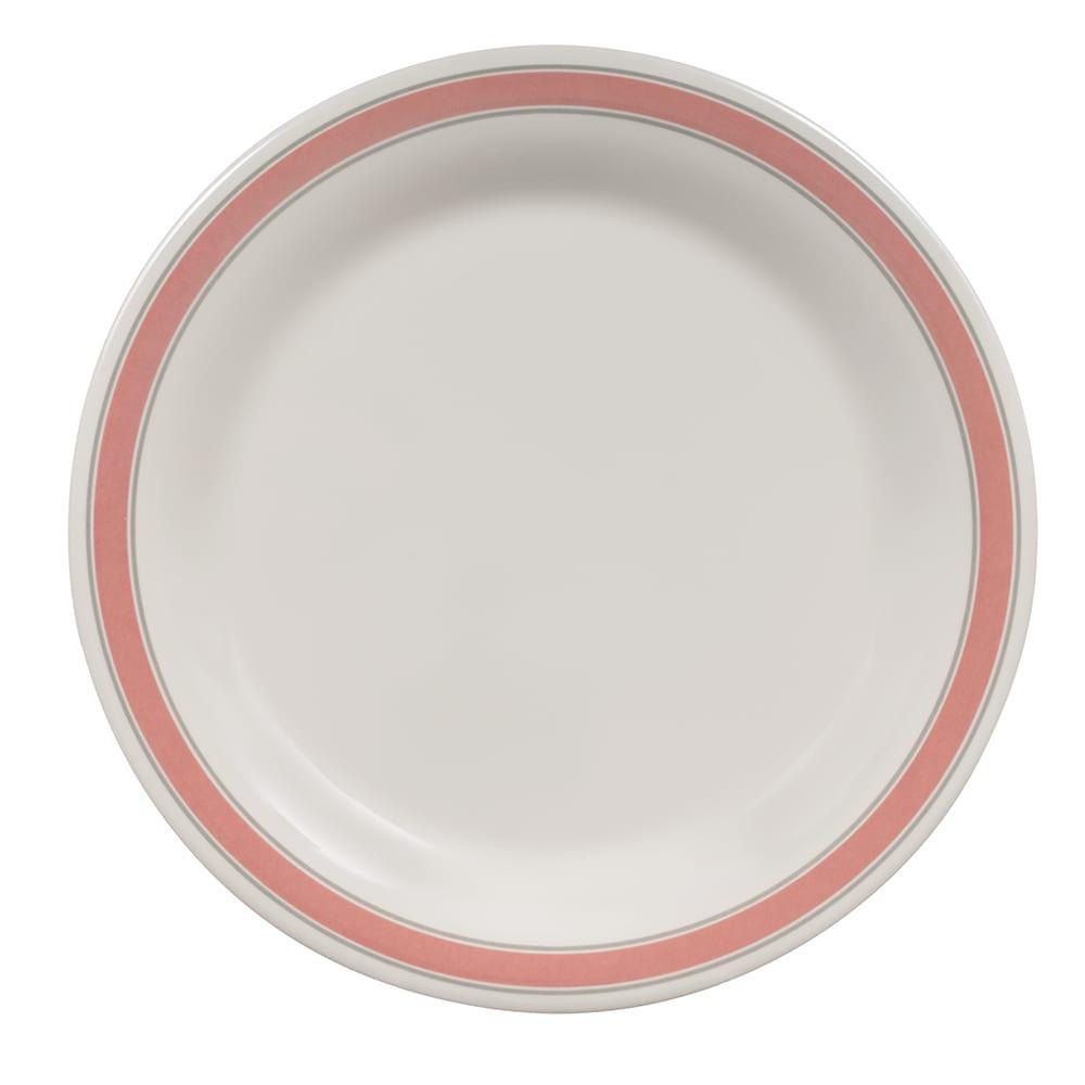 "GET NP-9-OX 9"" Round Dinner Plate, Melamine, White"