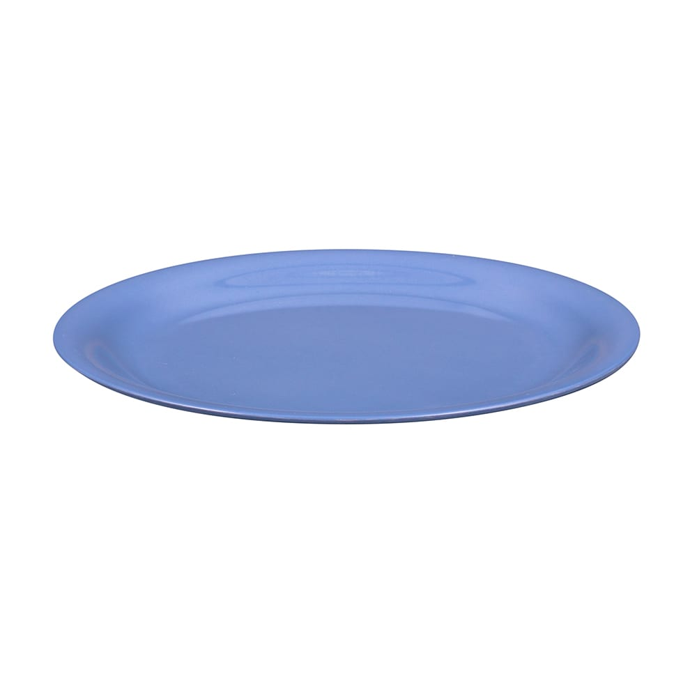 "GET NP-9-PB 9"" Round Dinner Plate, Melamine, Blue"