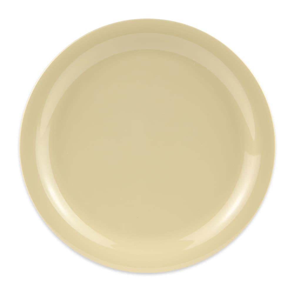 "GET NP-9-SQ 9"" Round Dinner Plate, Melamine, Squash"