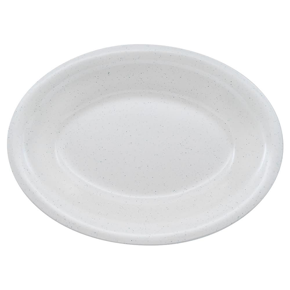 """GET OP-220-IR Oval Serving Platter, 12"""" x 9"""", Melamine, Ironstone"""