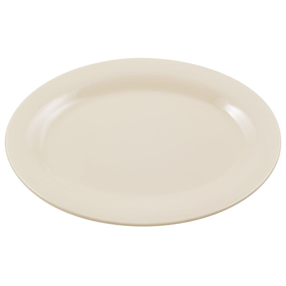 """GET OP-320-IV Oval Serving Platter, 11.25"""" x 8.5"""", Melamine, Ivory"""