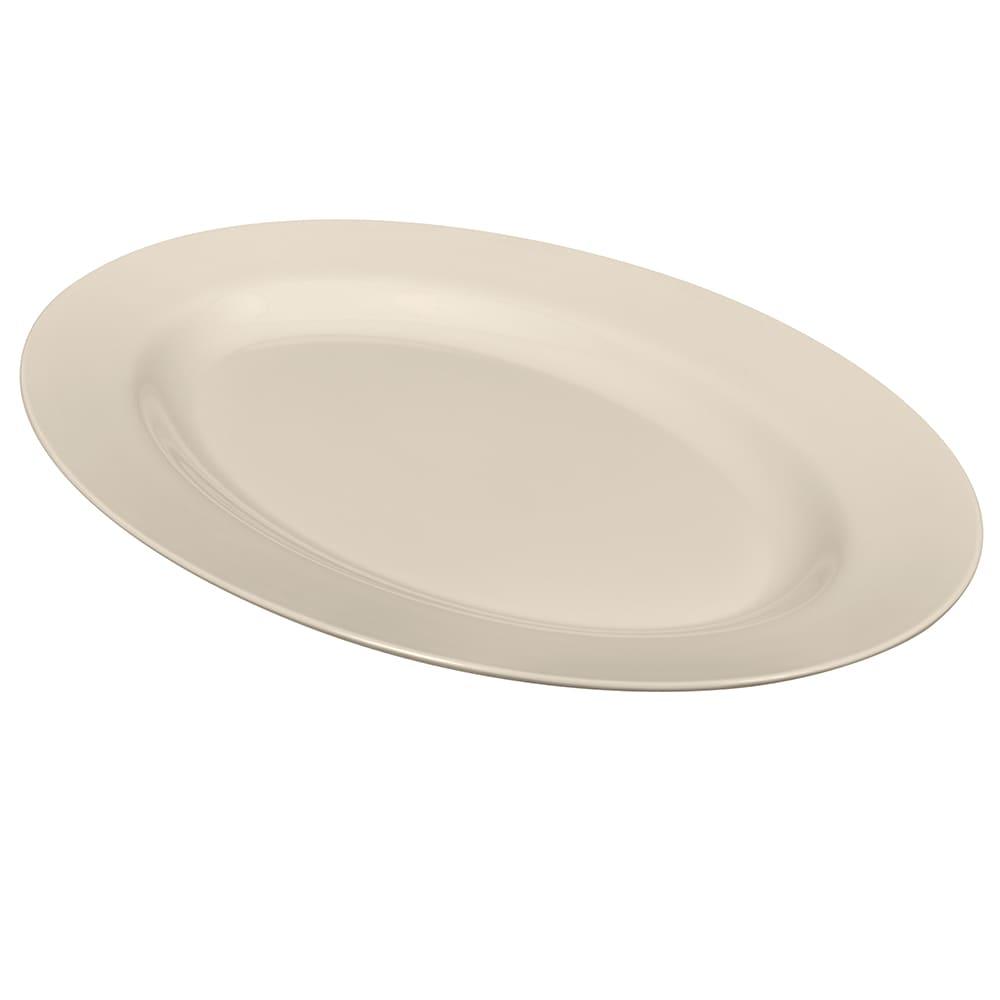 """GET OP-630-IV Oval Serving Platter, 30"""" x 20.25"""", Melamine, Ivory"""