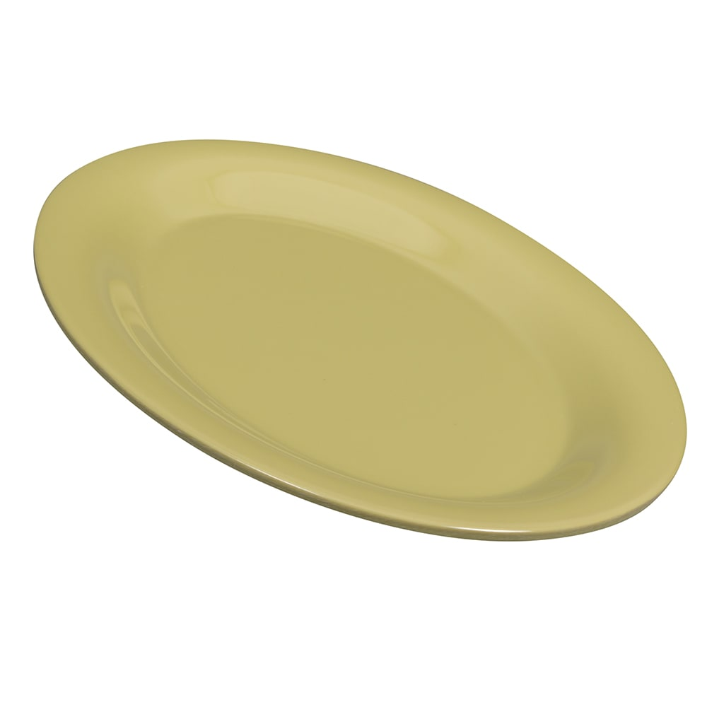 "GET OP-950-AV Oval Serving Platter, 9.75"" x 7.25"", Melamine, Avocado"