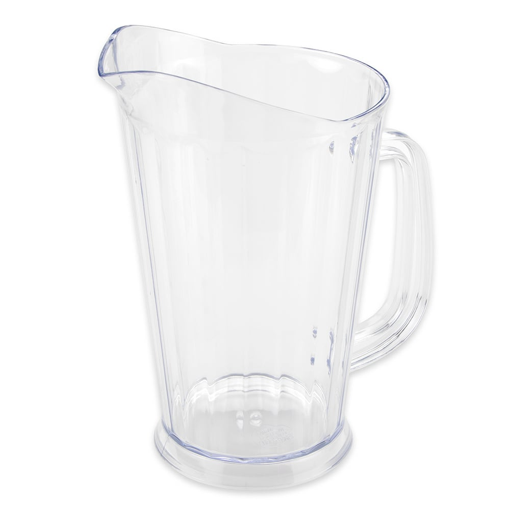 "GET P-1064-1-CL 9""H Beer Pitcher w/ 60-oz Capacity, Clear"