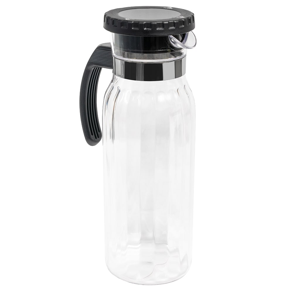"GET P-4050-PC-CL 5.25"" Round Beverage Pitcher, Polycarbonate, Clear"
