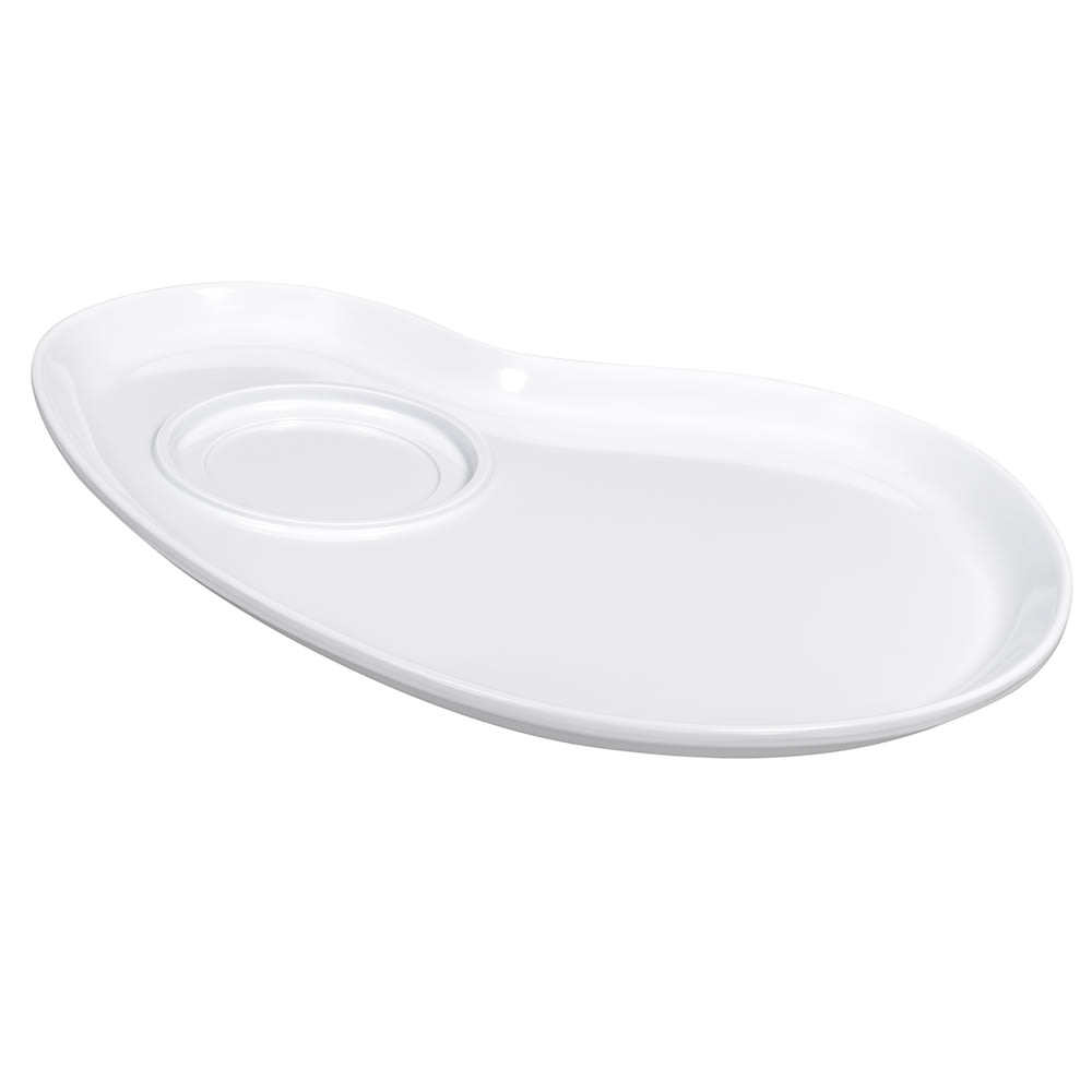"GET PP-976-W 12"" Palette Plate for Bowls B-454, B-525, Mug BF-080, Melamine, White"