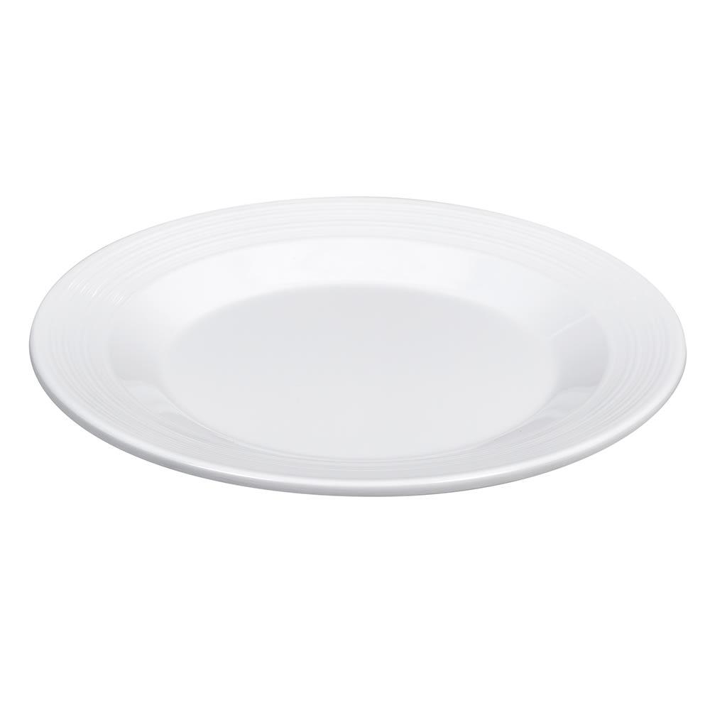 """GET PT-7-MN-W 7.5"""" Round Salad Plate, Melamine, White"""