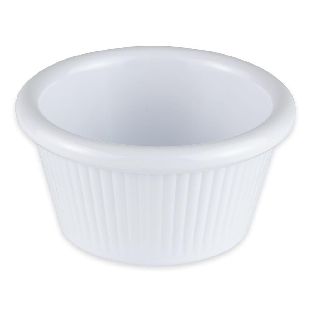 GET RM-387-W 2-oz  Ramekin, Melamine, White