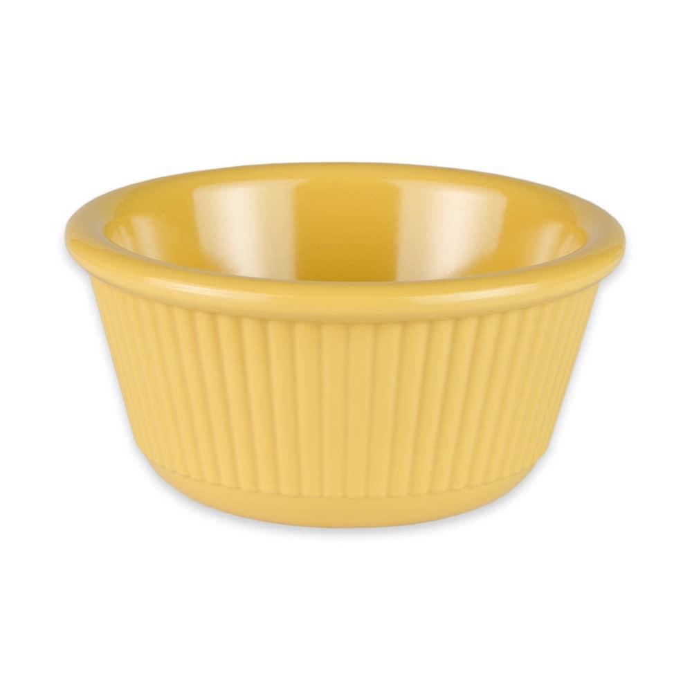GET RM-389-TY 3-oz  Ramekin, Melamine, Yellow