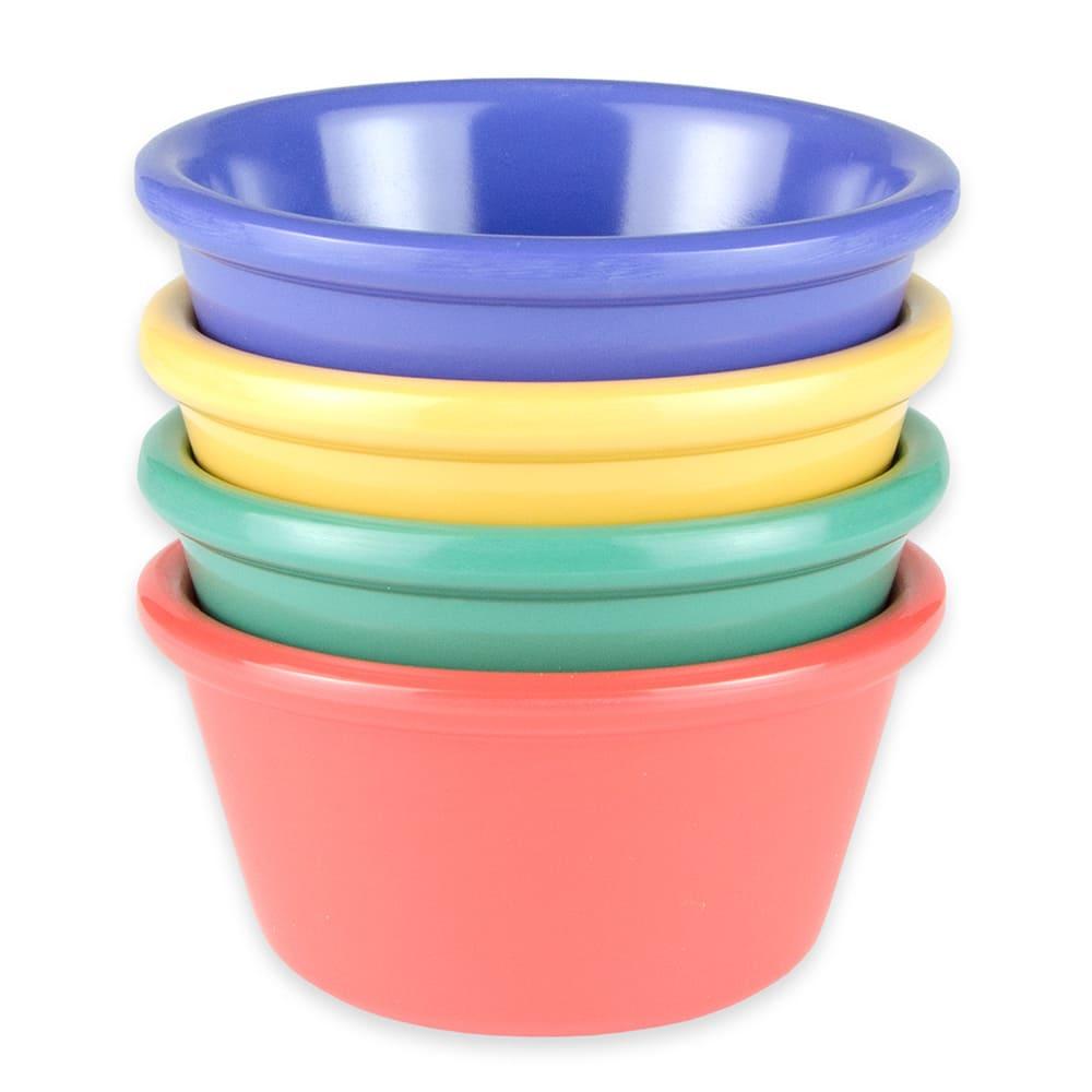 GET RM-400-MIX (4) 4-oz  Ramekin, Melamine, Multi-Colored