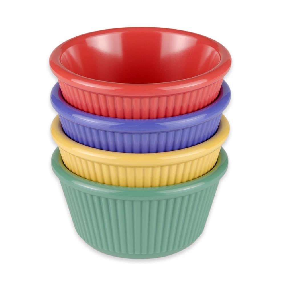GET RM-401-MIX 4 oz  Ramekin, Melamine, Multi-Colored