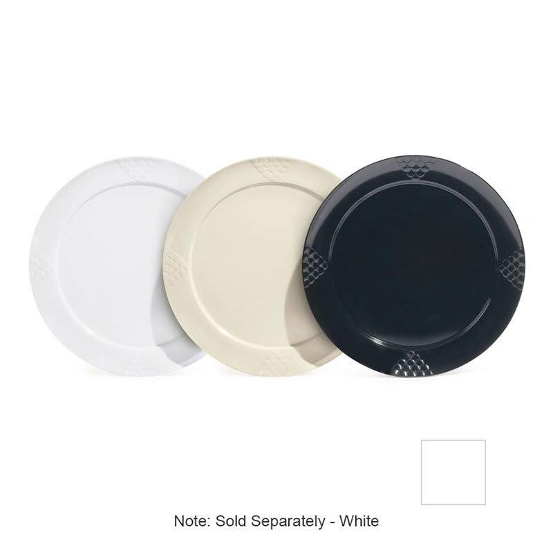 "GET RP-18-W 18"" Round Dinner Plate, Melamine, White"
