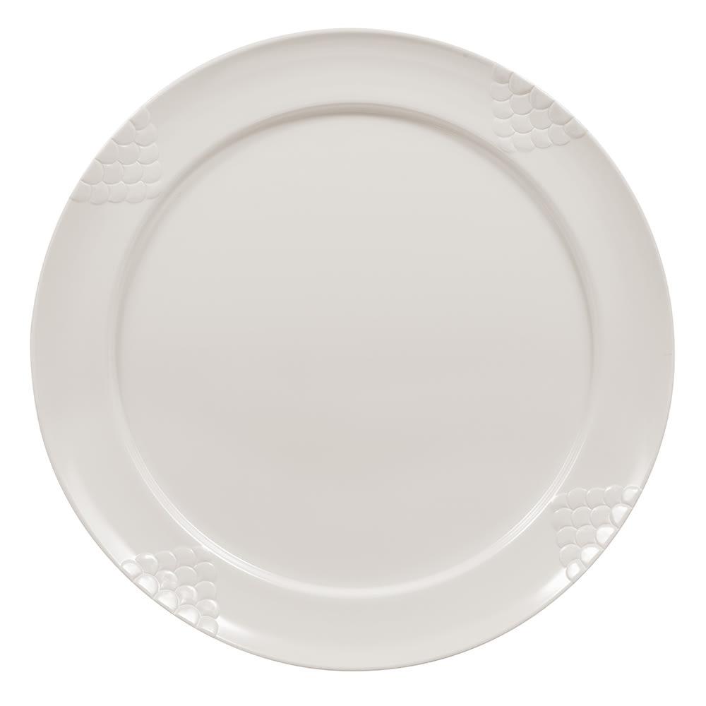 """GET RP-20-IV 20"""" Round Dinner Plate, Melamine, Ivory"""