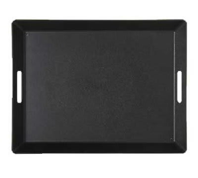 GET RST-1520-1-BK Room Service Tray, 15 x 20-in, Black ABS Plastic