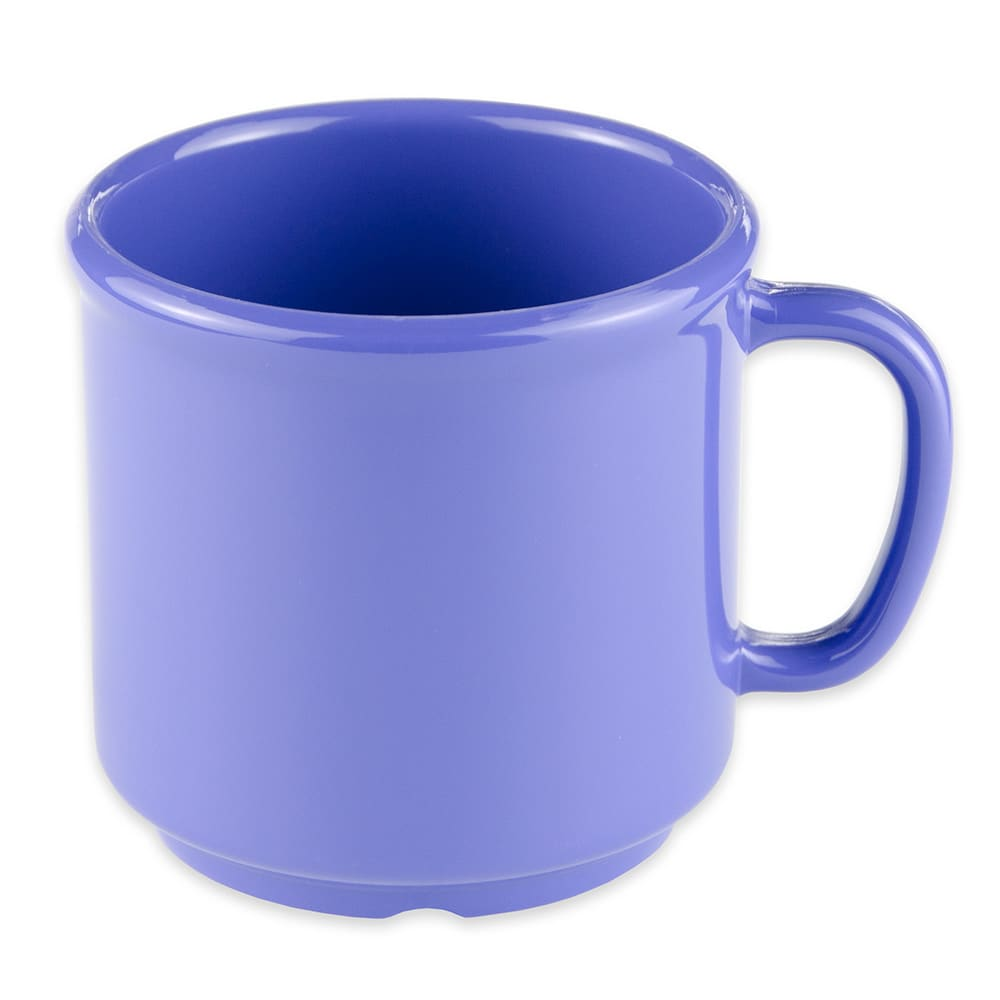 GET S-12-PB 12-oz Coffee Mug, Plastic, Blue