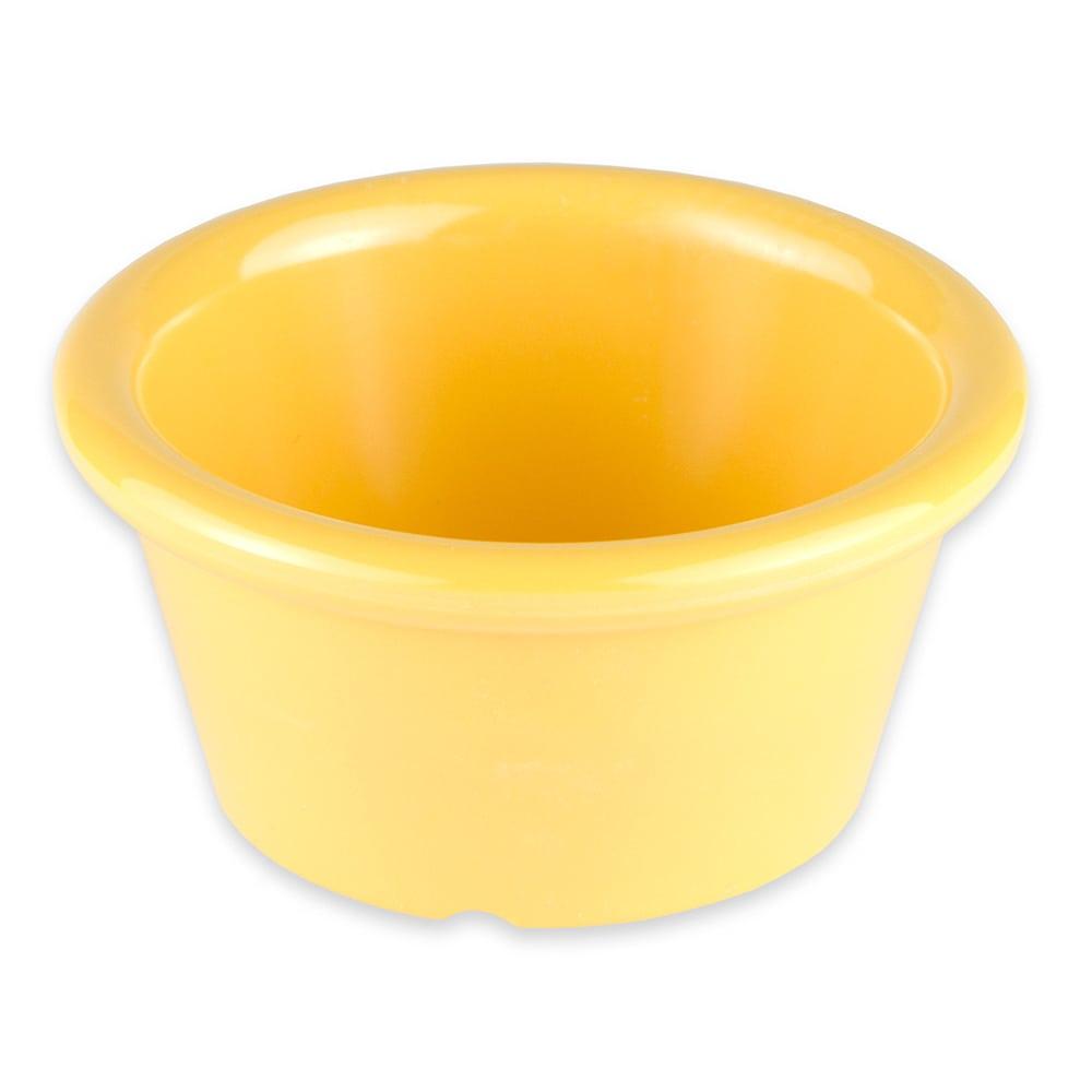 GET S-620-TY 2-oz  Ramekin, Melamine, Yellow