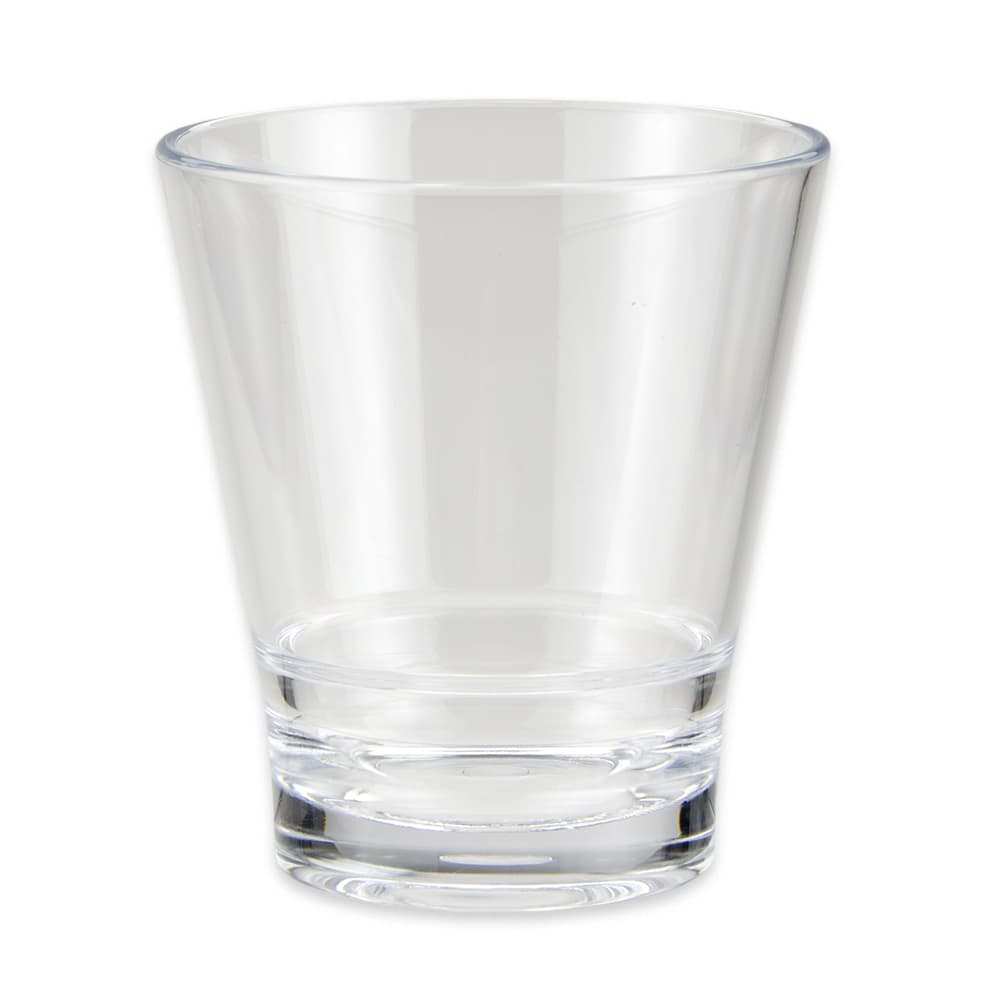 GET S-9-CL 9 oz Rocks Glass, SAN Plastic, Clear