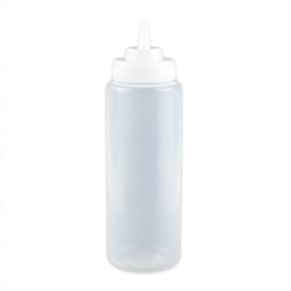 GET SB-32-CL 32-oz Squeeze Bottle w/ Lid, Clear