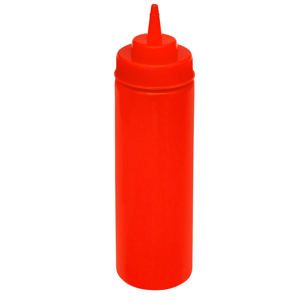 GET SB-32-R 32-oz Squeeze Bottle w/ Lid, Red