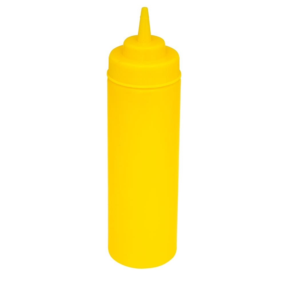 GET SB-32-Y 32 oz Squeeze Bottle w/ Lid, Yellow