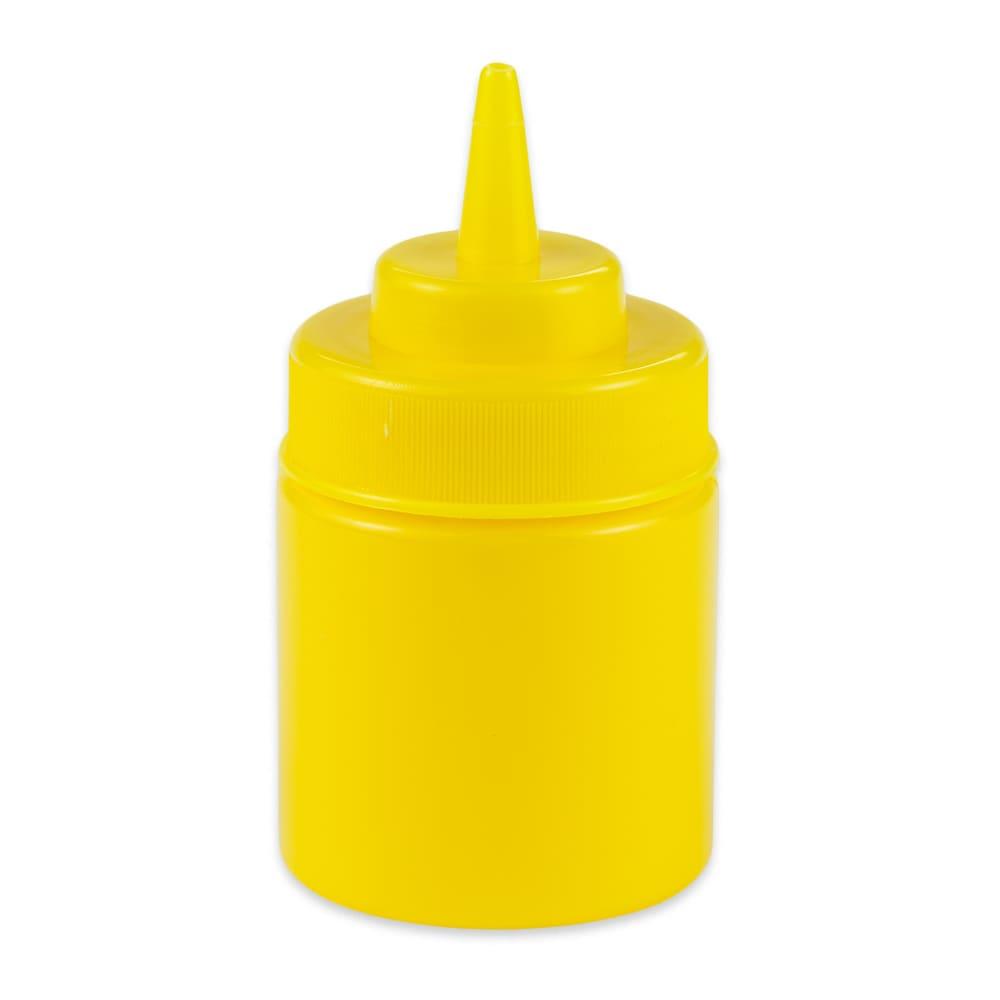 GET SB-8-Y 8-oz Squeeze Bottle w/ Lid, Yellow
