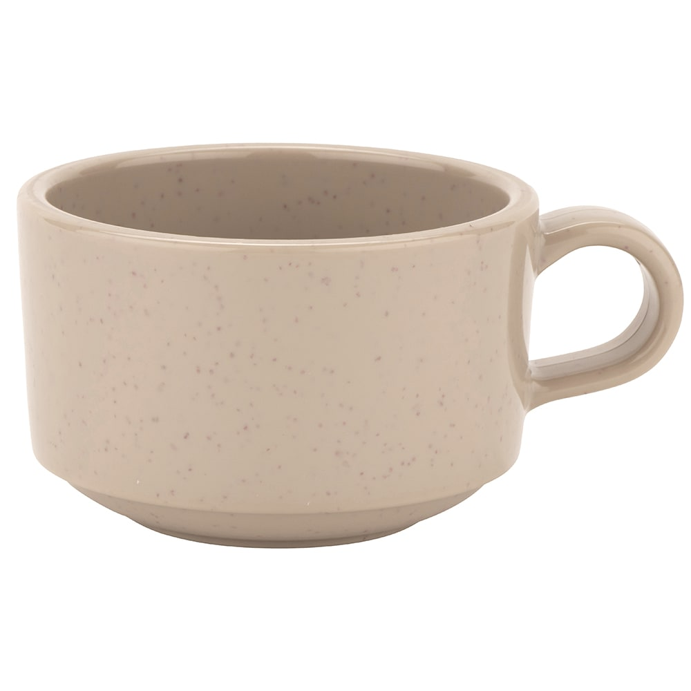 GET SC-10-S 10 oz Coffee Mug, Plastic, Sandstone