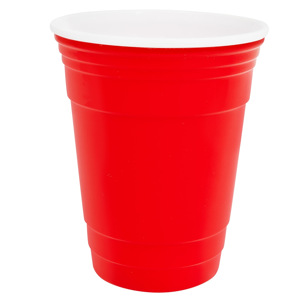 GET SC-16-R 16-oz Tumbler, Polypropylene, Red