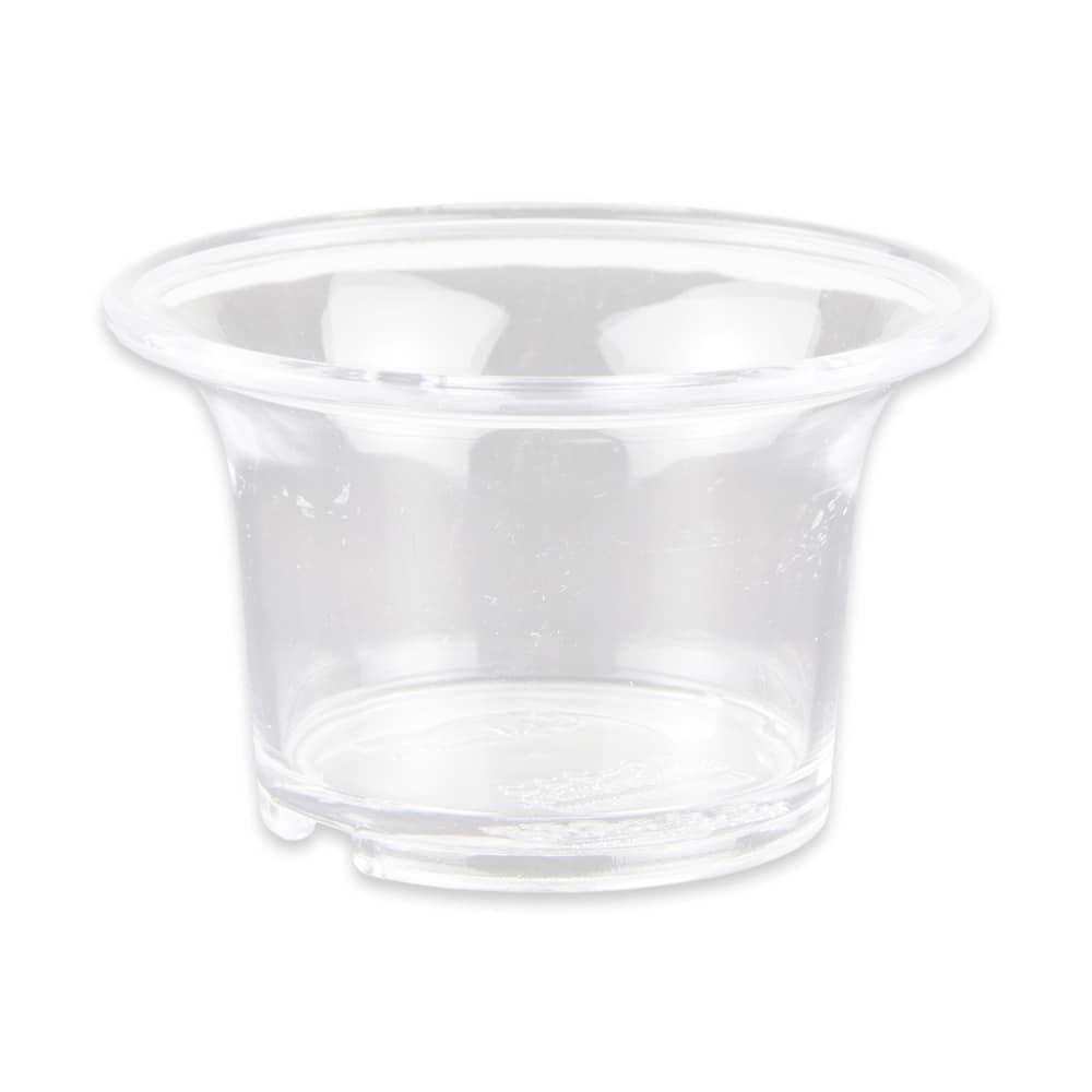 GET SC-222-CL 2-oz Sauce Cup, Plastic, Clear