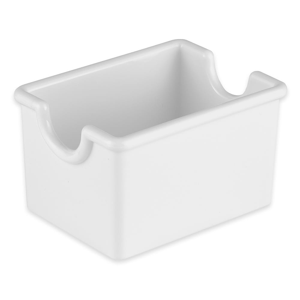 GET SC-66-W Sugar Caddy, Plastic, White
