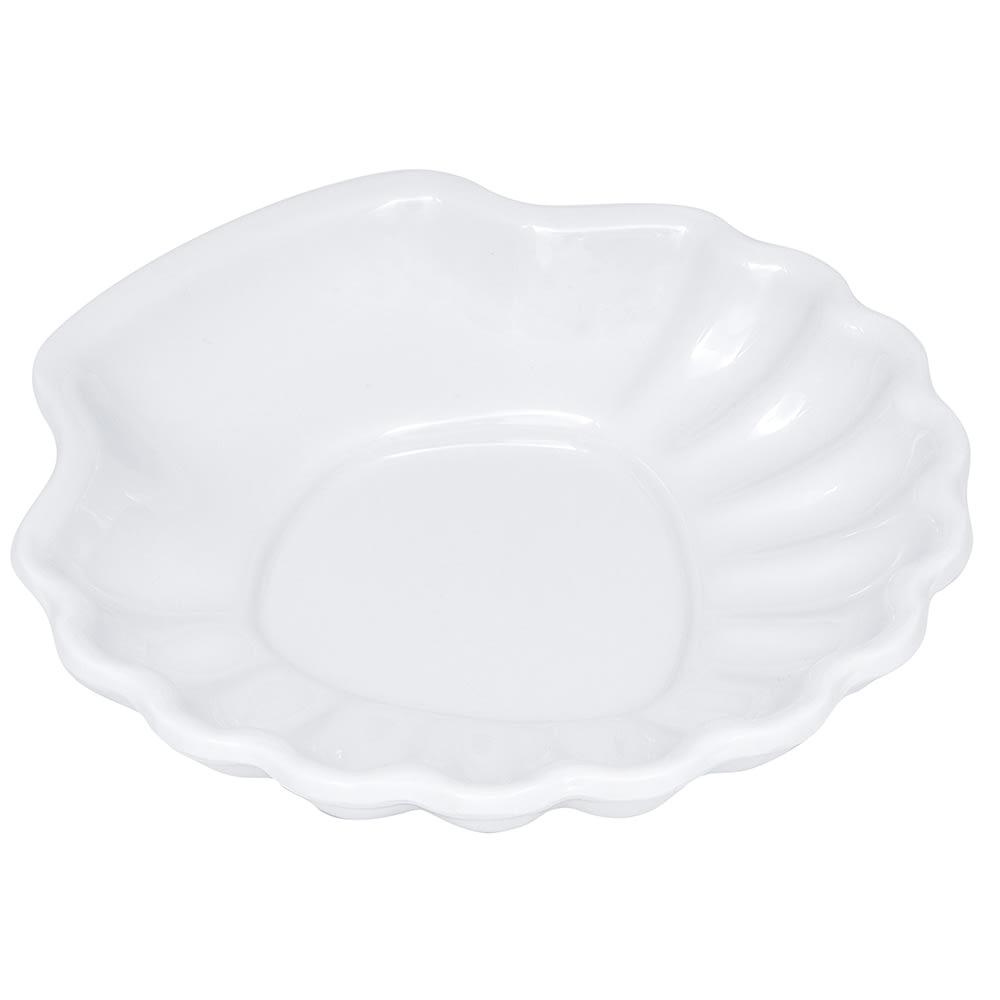 """GET SH-5-W 5"""" Round Dessert Plate, Melamine, White"""