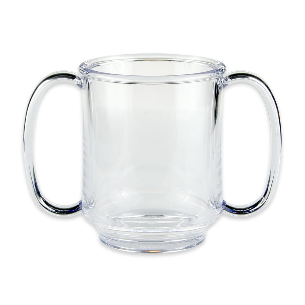 GET SN-103-CL 8-oz Coffee Mug, Plastic, Clear