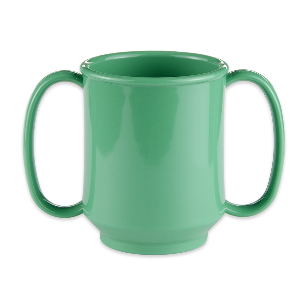 GET SN-103-FG 8-oz Coffee Mug, Plastic, Green