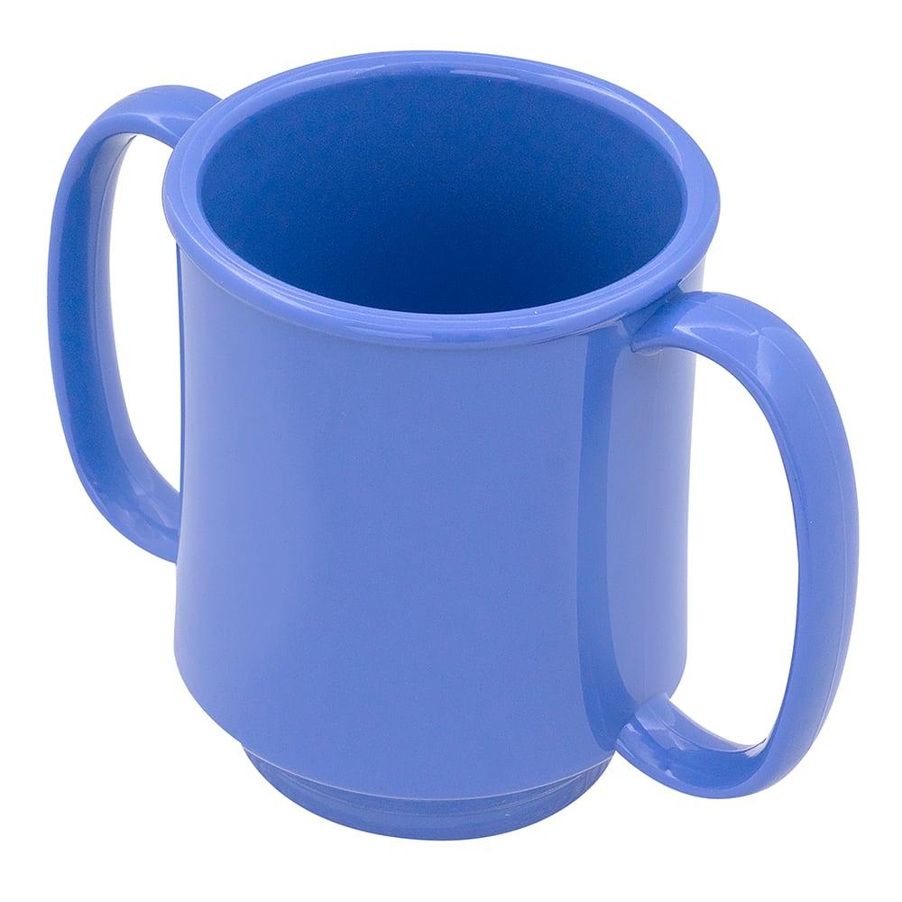 GET SN-103-PB 8-oz Coffee Mug, Plastic, Blue