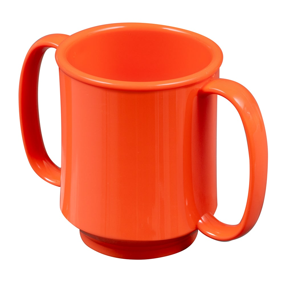 GET SN-103-RO 8 oz Coffee Mug, Plastic, Orange