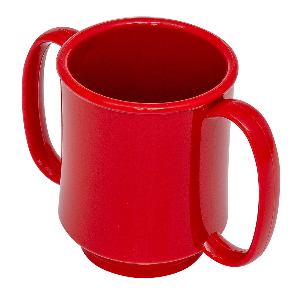 GET SN-103-RSP 8-oz Coffee Mug, Plastic, Black