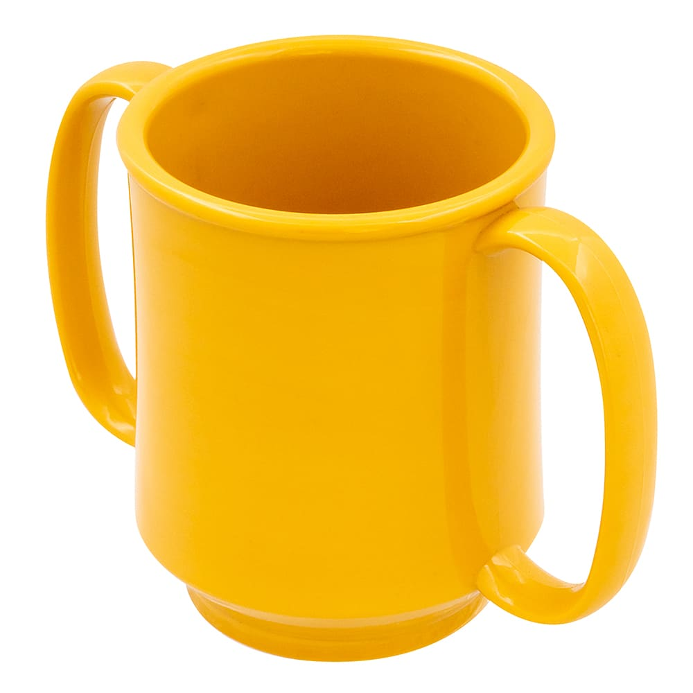 GET SN-103-TY 8-oz Coffee Mug, Plastic, Yellow