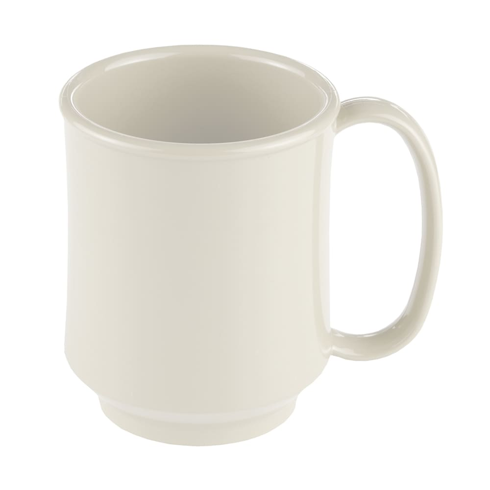 GET SN-104-IV 8-oz Coffee Mug, Plastic, White
