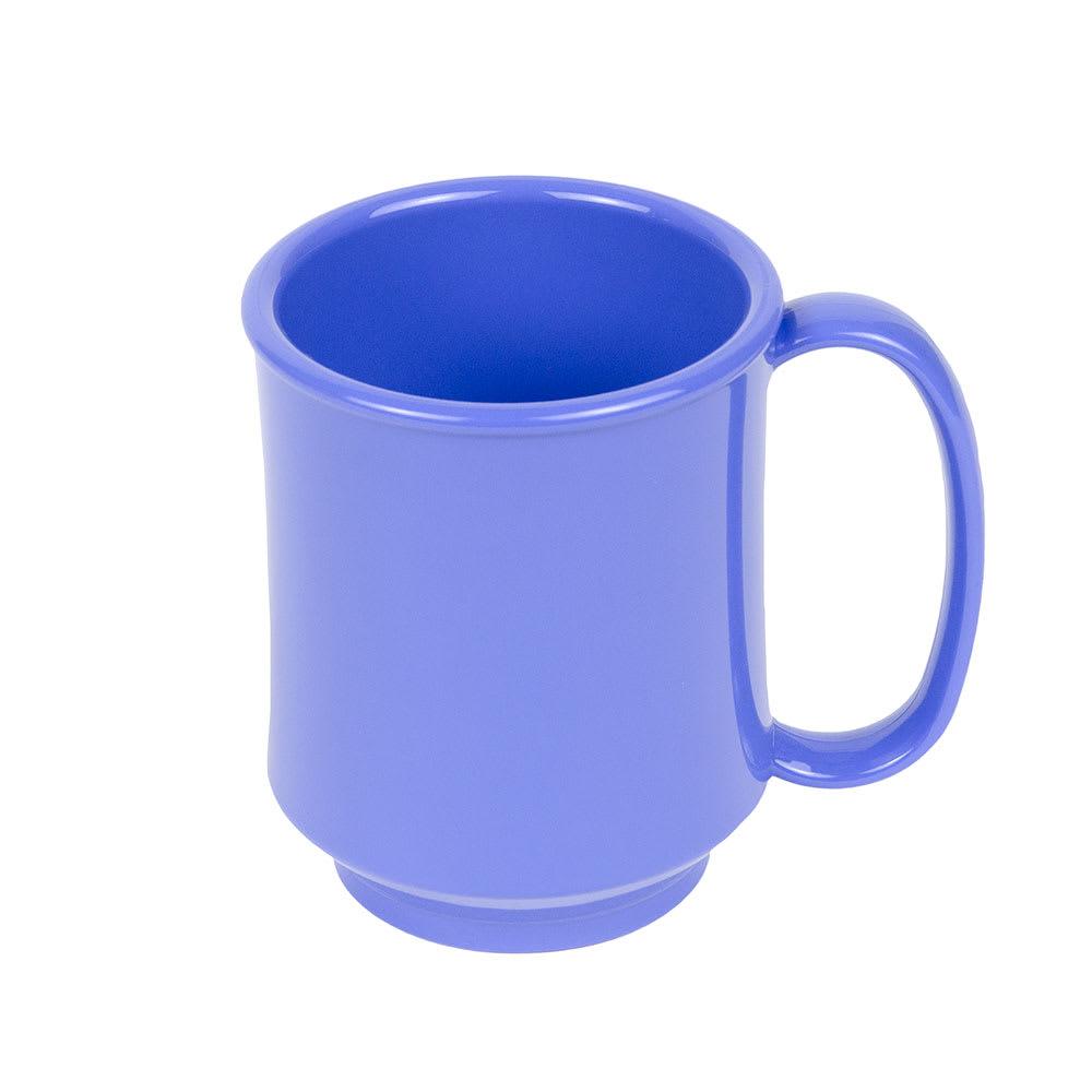 GET SN-104-PB 8 oz Coffee Mug, Plastic, Blue