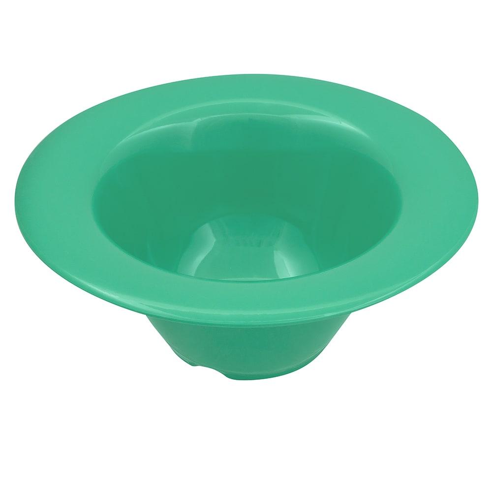 "GET SN-108-FG 6.25"" Round Oatmeal Bowl w/ 10-oz Capacity, Melamine, Green"