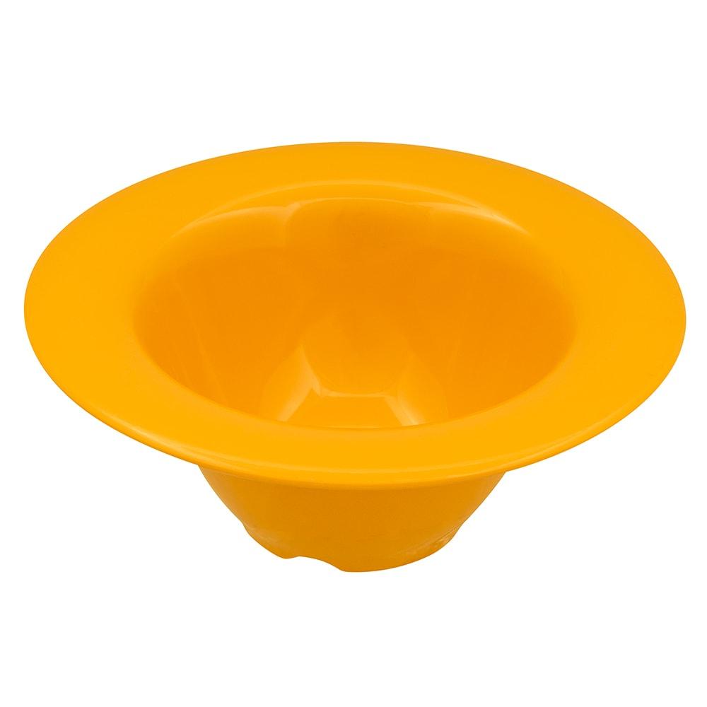 "GET SN-108-TY 6.25"" Round Oatmeal Bowl w/ 10-oz Capacity, Melamine, Yellow"