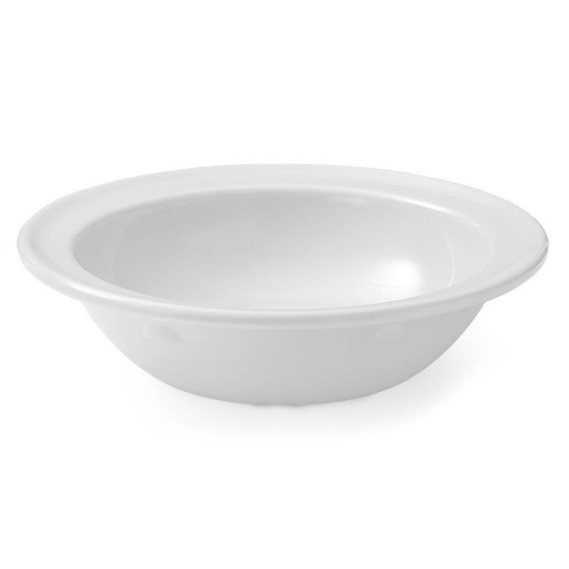 GET SP-DN-350-W 5-oz Supermel I Rimmed Fruit Bowl, White Melamine