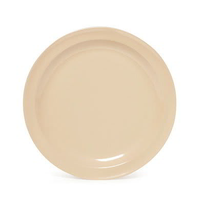 "GET SP-DP-508-T 8"" Supermel I Lunch Plate, Tan Melamine"