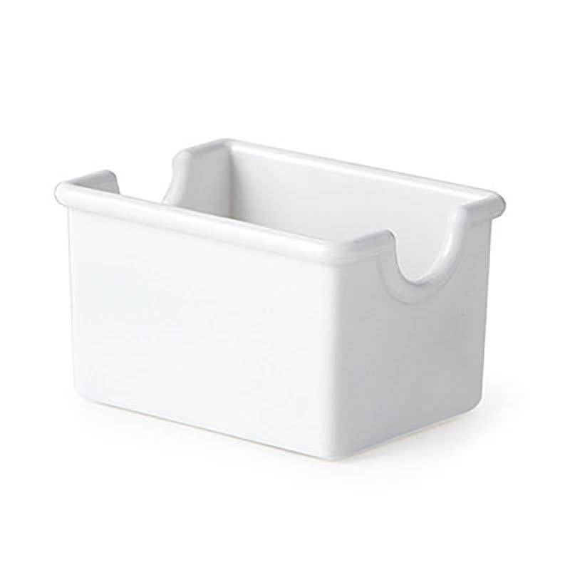 """GET SP-SC-66-W Plastic Sugar Caddy, 3.5 x 2.5 x 2"""" Deep, White"""