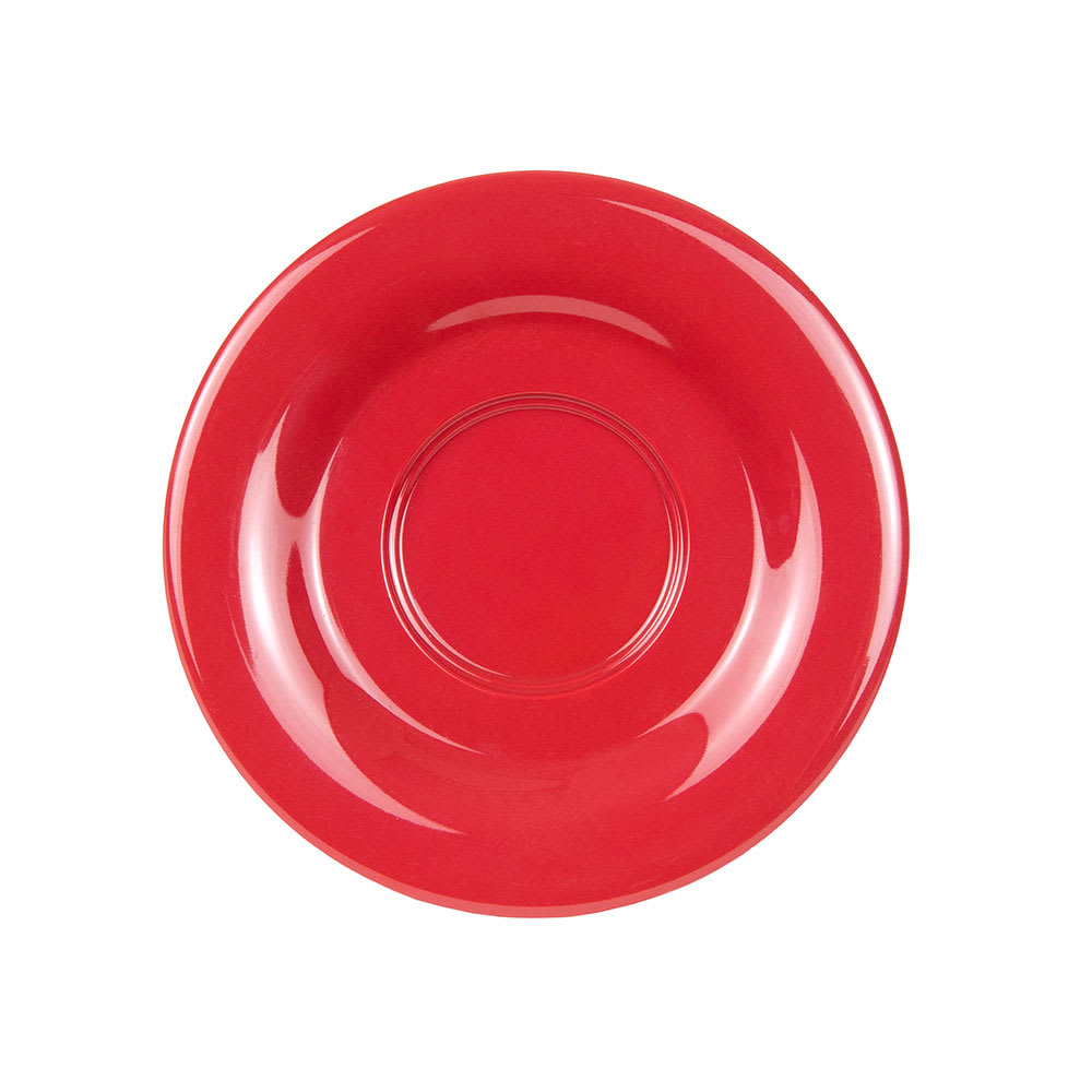 "GET SU-2-CR 5.5"" Melamine Saucer For C-108, TM-1208 & TM-1308, Cranberry"