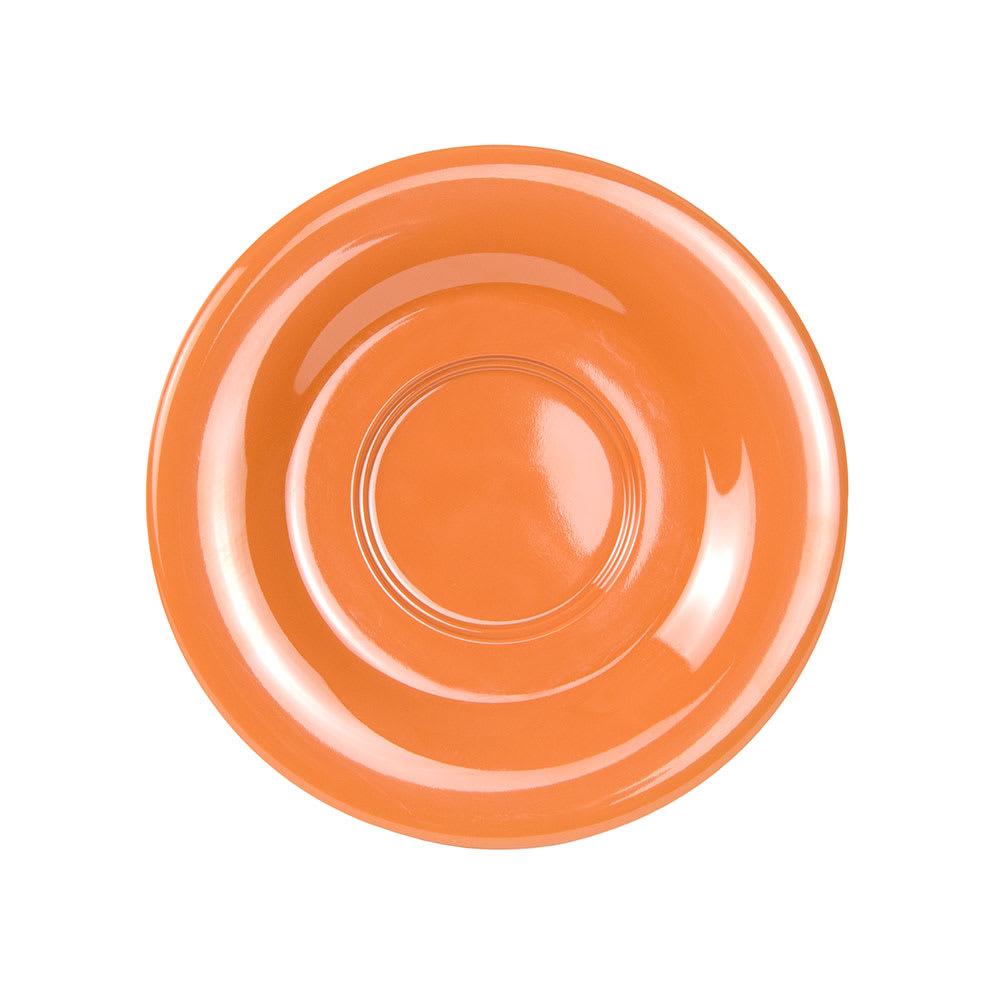 """GET SU-2-PK 5.5"""" Round Saucer, Melamine, Orange"""