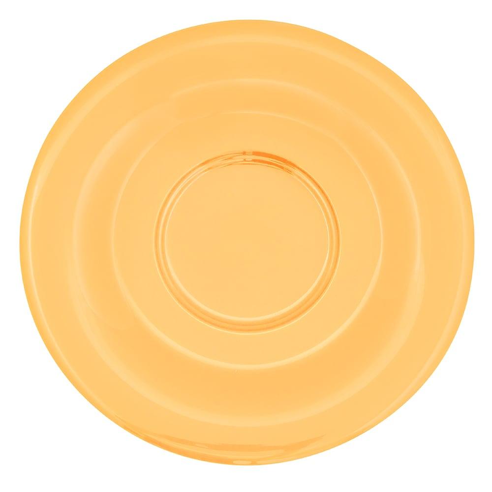 """GET SU-2-TY 5.5"""" Round Saucer, Melamine, Yellow"""