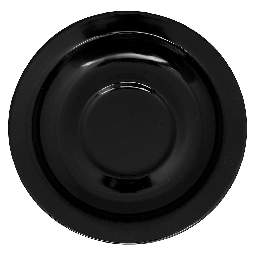 """GET SU-4-BK 4.5"""" Round Saucer, Melamine, Black"""